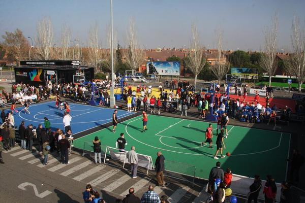 Torneo solidario baloncesto 3x3