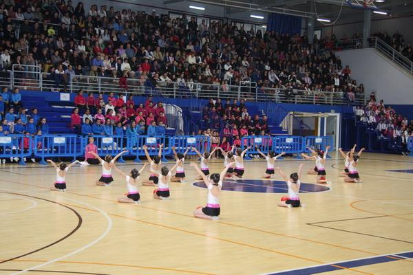 II Exhibición de Escuelas Deportivas de Gimnasia Rítmica.
