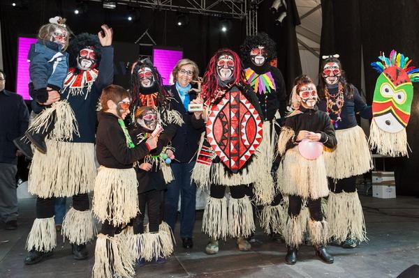 Murga 'AMPA Vicente Ferrer', premio a la murga infantil más salerosa