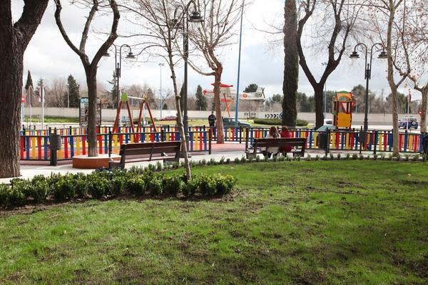 Remodelación plaza Pinto