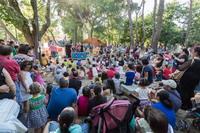 Teatro infantil en el Parque Lorenzo Azofra