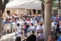 Actuación de la Banda de Villarejo de Salvanés, en el XVIII Encuentro de Bandas de Música