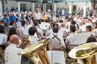 Concierto de la Banda de Música de Getafe en el Encuentro de Bandas de Música