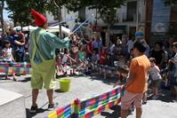 Juegos infantiles durante las Fiestas de Getafe