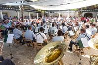 Encuentro de Bandas de Música, actuación de la Unidad de Música MAGEN - ACAR de Getafe