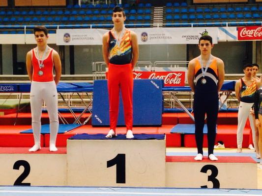 Jorge Martín en el podio