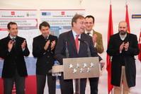 El alcalde Juan Soler durante su intervención