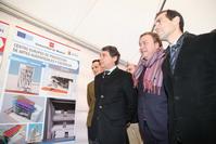Juan Soler e Ignacio González junto al consejero Salvador Victoria