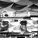 Fotografía de las cometas de la calle Madrid, de Miguel Ángel Díaz