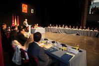 Una imagen del Pleno de la Corporacion presidido por Sara Hernández