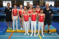 Algunos de los medallistas de Getafe