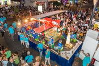 Segundo premio del Desfile de Carrozas, el 'Avión' de la Peña Los Amigos de Getafe
