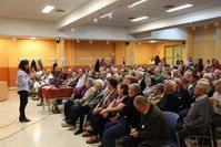 Asamblea vecinal en La Alhóndiga