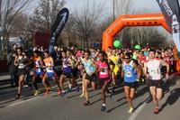 Más de 5000 atletas participaron en la media maratón 'Ciudad de Getafe'