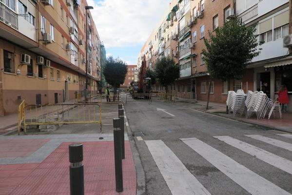 Obras calle Albacete