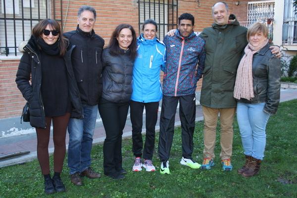 La alcaldesa y concejales de Gobierno Municipal junto a los vencedores