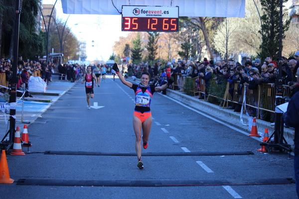 La vencedora femenina Lucía Morales