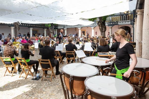 XX Encuentro de Bandas de Música 'Getafe en Fiestas' en el Hospitalillo de San José