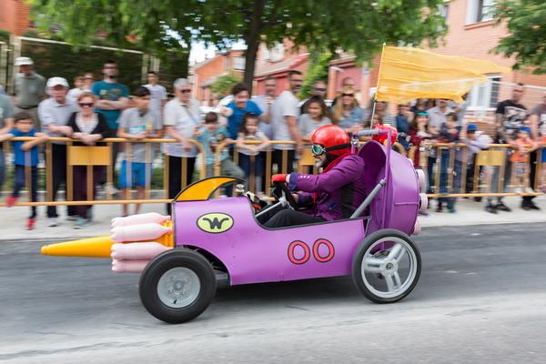III Carrera de Autos Locos de Getafe