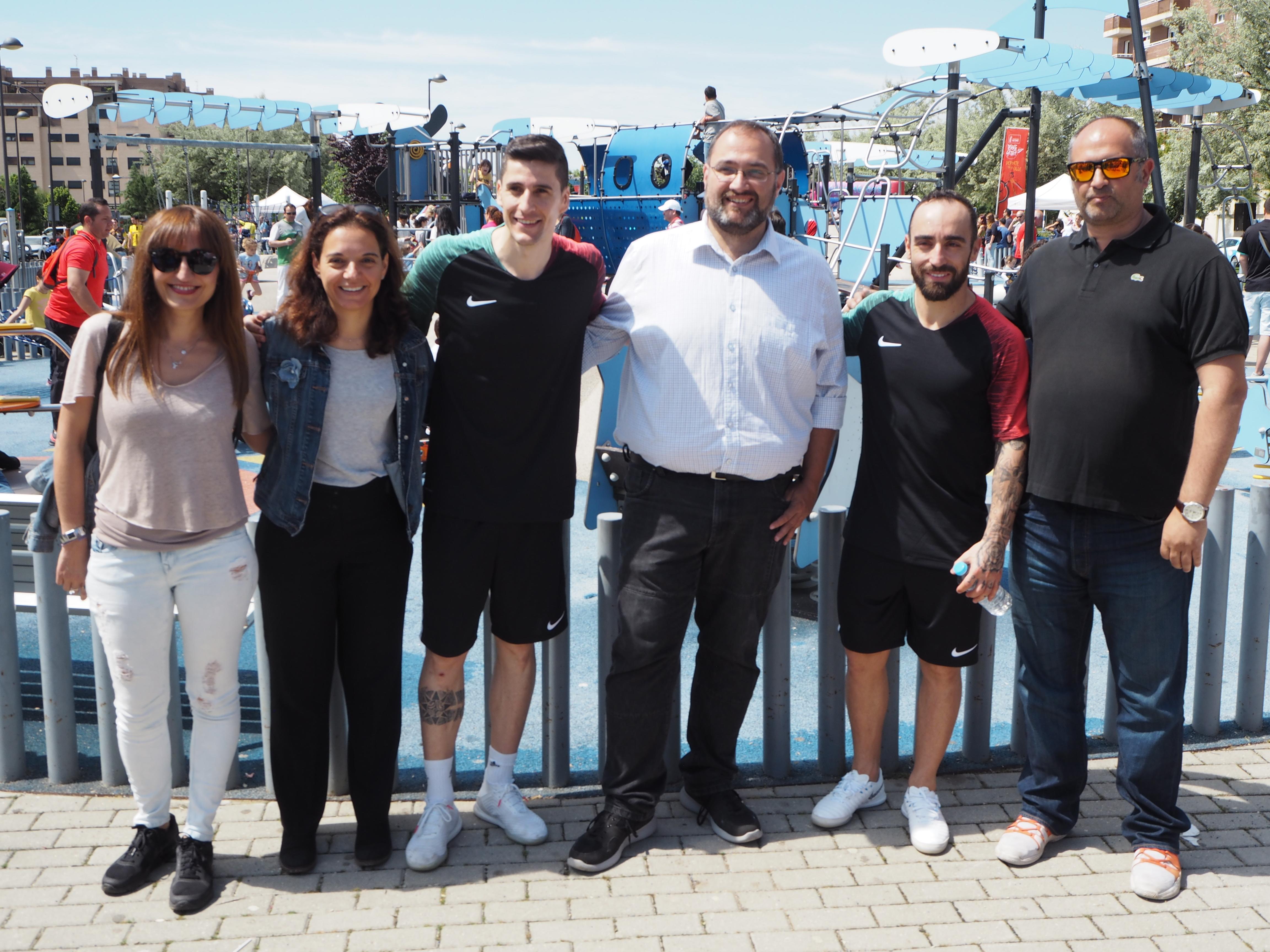 Deporte Familiar en la Calle El Bercial