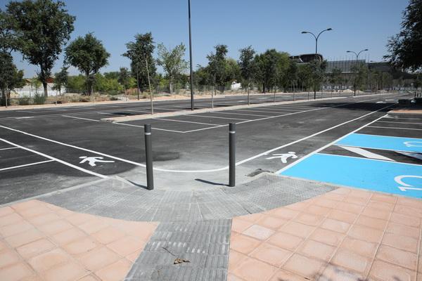 aparcamiento Camino Viejo de Pinto