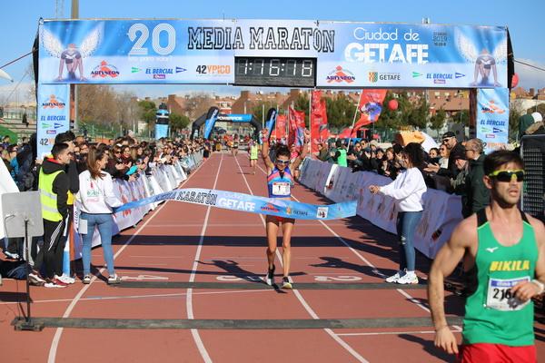 Lucía Morales, campeona en categoría femenina