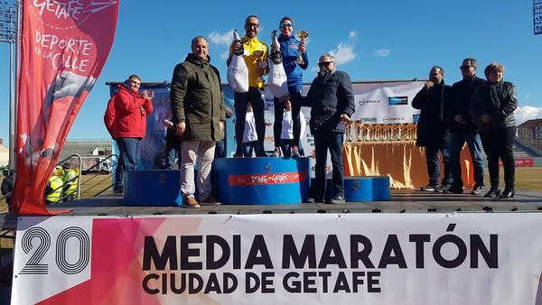 Primeros atletas locales: Lucía Morales y Antonio Borrego