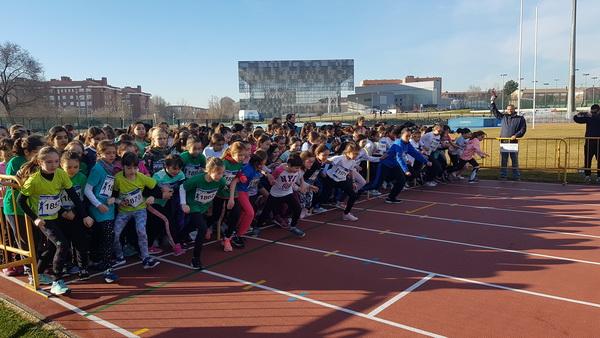 Campeonatos escolares de campo a través 2019