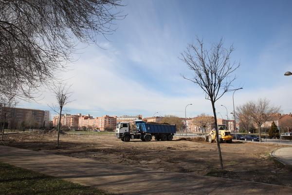 Obras recinto ferial El Bercial