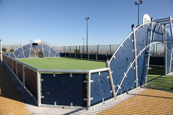 Nueva pista polideportiva en Buenavista, con cargo al programa de Presupuestos Participativos