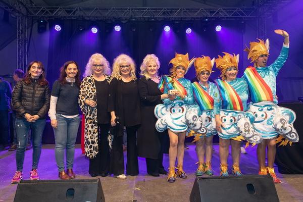 Premio a la Murga Más Currá, a la Asociación Cultural Venimos del Sagrado